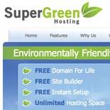 Super Green Hosting - Design & branding