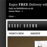 Bobbi Brown UK Beauty Team page design